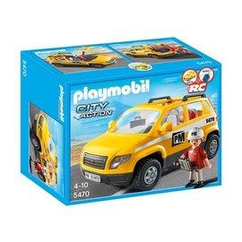 Playmobil pl5470 - Werfleider met auto