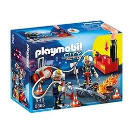 Playmobil pl5365 - Brandweermannen met brandslang