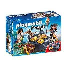 Playmobil pl6683 - Koninklijke schatkist met piraat