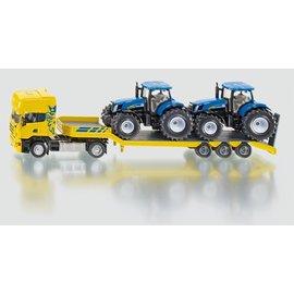 Siku 1:50 Truck met 2 traktoren