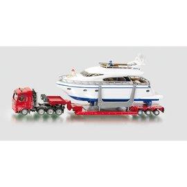 Siku SK1849 - 1:87 Zwaartransport met jacht