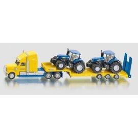 Siku 1:87 Zwaartransport met 2 New Holland tractoren