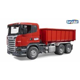 Bruder BF3522 - Scania vrachtwagen met afzetcontainer