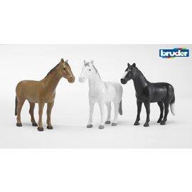 Bruder BF2306 - Paard (in 4 kleuren) 1:16