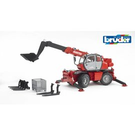 Bruder BF2129 - Manitou Telescoop MRT2125 + accessoires