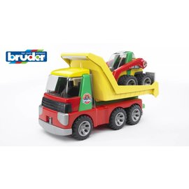 Bruder BF20070 - Transport auto met shovel