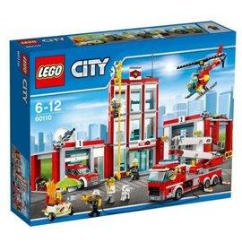 LEGO® LE60110 - Brandweerkazerne