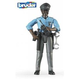 Bruder BF60051 - Politieagent met donkere huidskleur