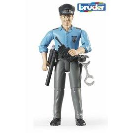 Bruder BF60050 - Politieagent met blanke huidskleur