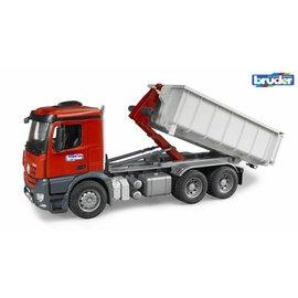 Bruder BF3622 - MB Arocs Truck met afzet container