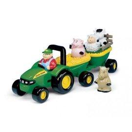 Britains Britains Hooiwagen tractor met dierengeluiden