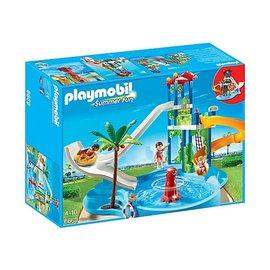 Playmobil pl6669 - Waterpark met glijbanen