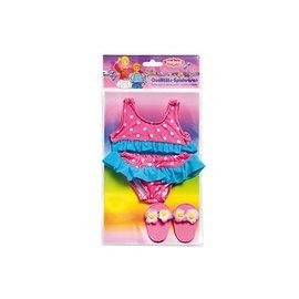 Heless  HL787 - Bikini rose met slippers