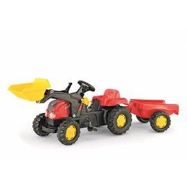 Rolly Toys Rollykid X Rood met voorlader