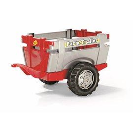 Rolly Toys Farmtrailer rood/grijs