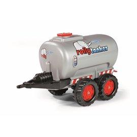 Rolly Toys Rolly Tanker zilvergrijs 2 assen