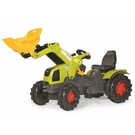 Rolly Toys Farmtrac Claas Axos 340 met voorlader