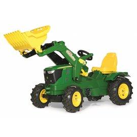Rolly Toys Farmtrac John Deere 6210R met voorl. en luchtbanden