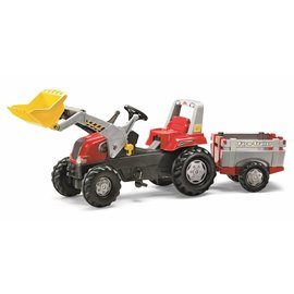 Rolly Toys RT811397 - Rolly Junior RT met aanhanger en voorlader