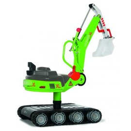 Rolly Toys RT513208 - Rolly Digger XL op rupbanden