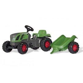 Rolly Toys RT013166 - Rollykid Fendt 516 Vario met aanhanger