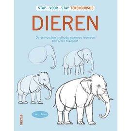 Boeken Stap voor stap Tekencursus - Dieren