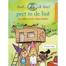 Boeken Ssst... ik lees! Pret in de hut - korte stripverhalen (AVI 1 AVI nieuw M3)