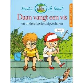 Boeken Ssst... ik lees! Daan vangt een vis - korte stripverhalen (AVI 2- AVI nieuw E3)