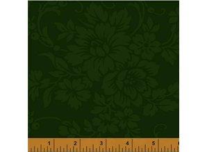 Windham Fabrics Mary's Blenders Donker Groen