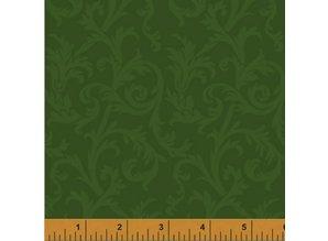 Windham Fabrics Mary's Blender Midden Groen