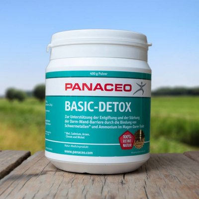 Panaceo Basic Detox  Zeoliet Poeder, 400 gram