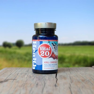 Vital 20 Krill Olie Omega-3 Extra Strong