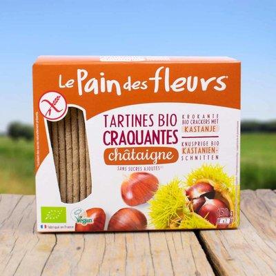 Pain Fleur Tamme Kastanje crackers
