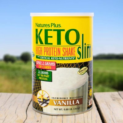 Nature's Plus Keto Slim vanille shake