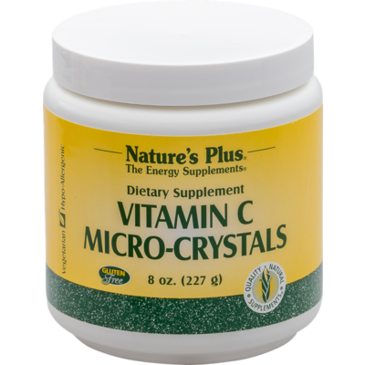 NaturesPlus Vitamine C Mycro Crystals, poeder