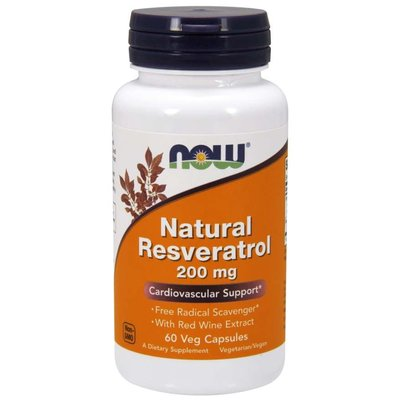NOW Resveratrol 200 mg