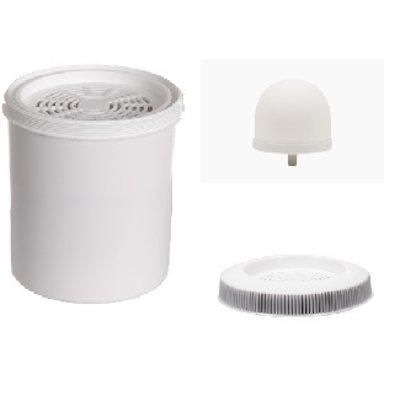 Aqualine 18 liter filters en Cormac ring en Redoxfilter