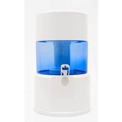 Aqualine 18 liter, kunststof, standaard, niet-alkalisch, met mineraalstenen