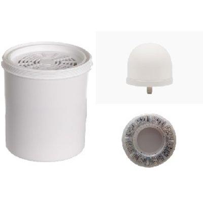 Aqualine 18 liter filters, alkalisch, met pH ring