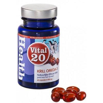 Vital 20 Krill Olie Omega-3, 60 capsules