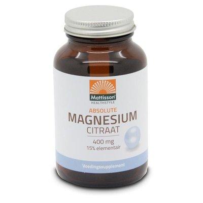 Mattisson Magnesium Citraat