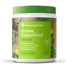 Amazing Grass Green Superfood Energy en Lime
