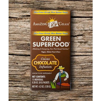 Amazing Grass Chocolate Sachets