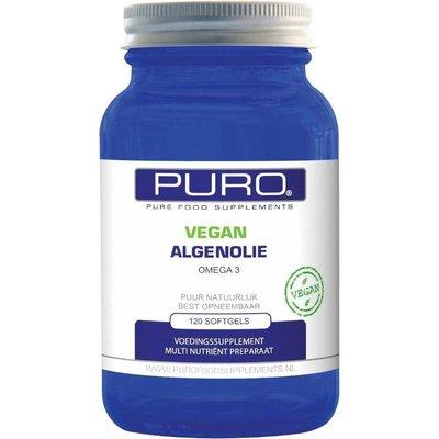 Puro Vegan Algenolie 120 softgels