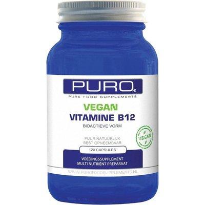 Puro Vegan Vitamine B12 120 capsules