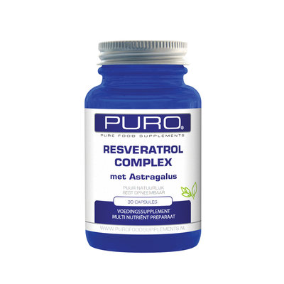 Puro Resveratrol Complex 30 capsules