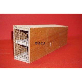 Ecs inloop muizen val gemaakt van hout