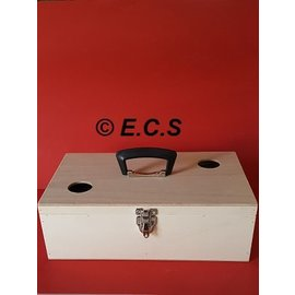 Ecs Transport box with flap 2 compartments