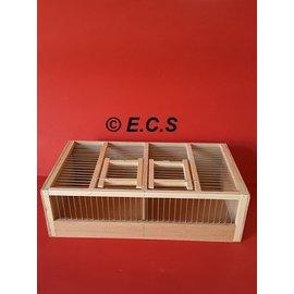 Ecs Runner Wood 2 compartments