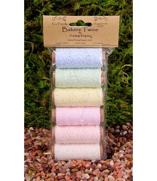 Hemptique Bakers Twine - Creamy Pastel